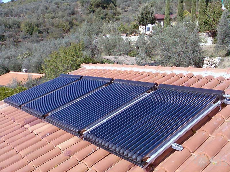 Piccolo solare termico / Small Scale thermal installations
